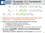 example 3 1 framework with addl d m 2 1 ev 2