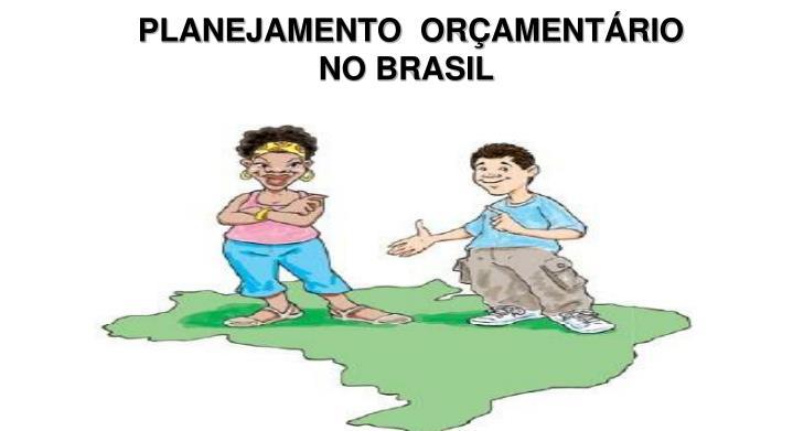 planejamento or ament rio no brasil n.