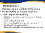 transition plan 2