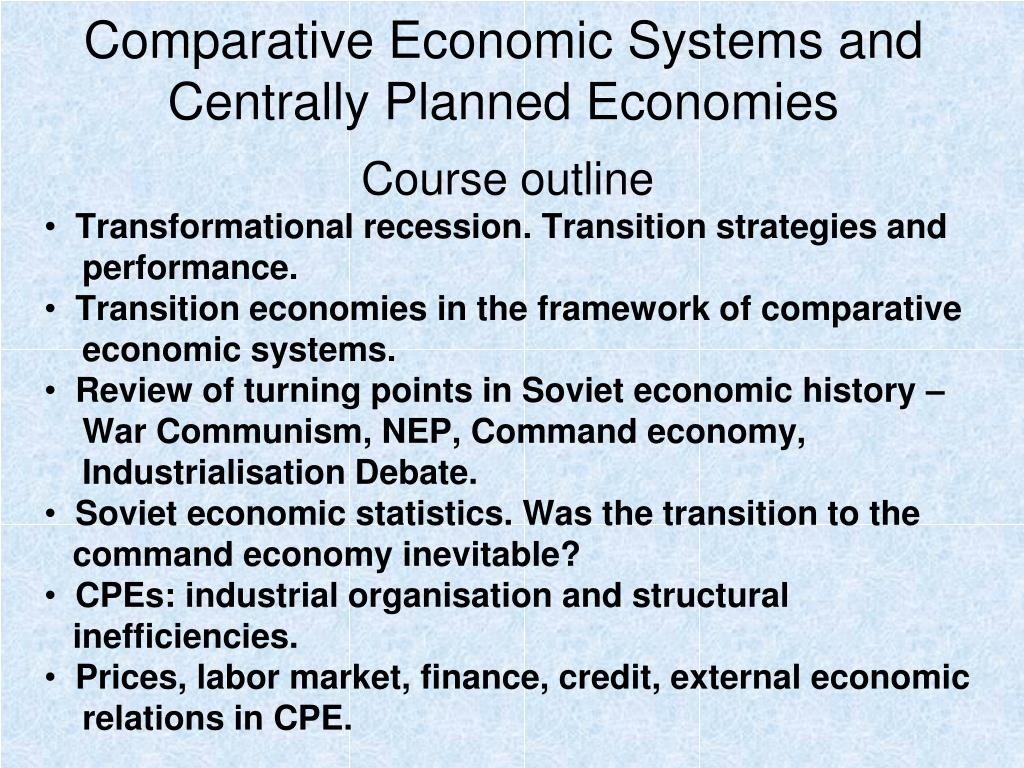 Economic systems powerpoint notes presentation by steve's social.