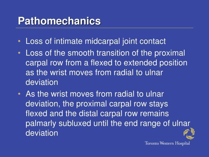 Pathomechanics