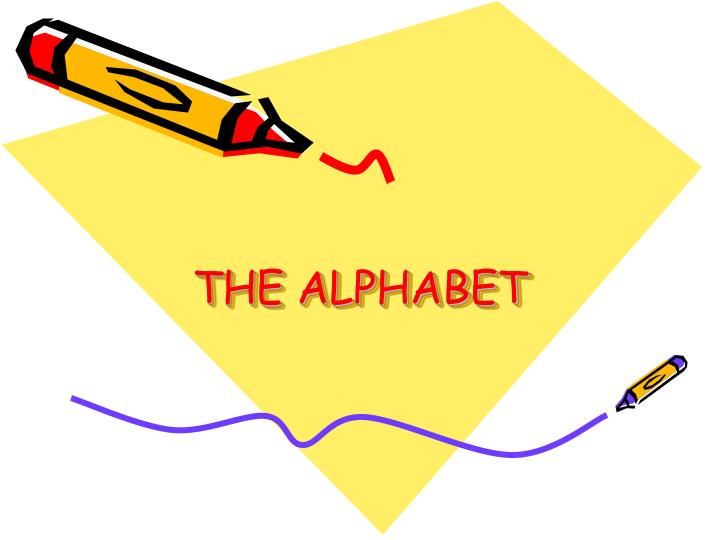 the alphabet n.