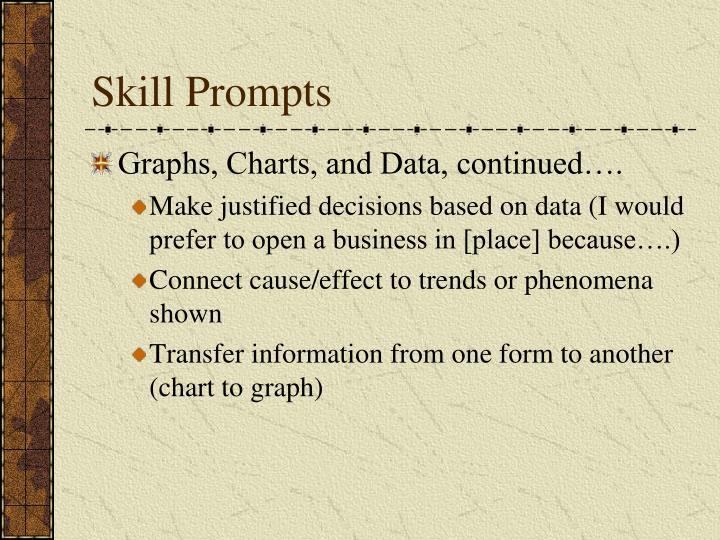 Skill Prompts