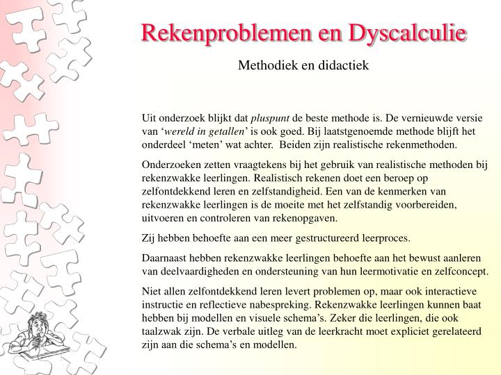 Methodiek en didactiek
