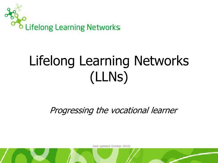 lifelong learning networks llns n.