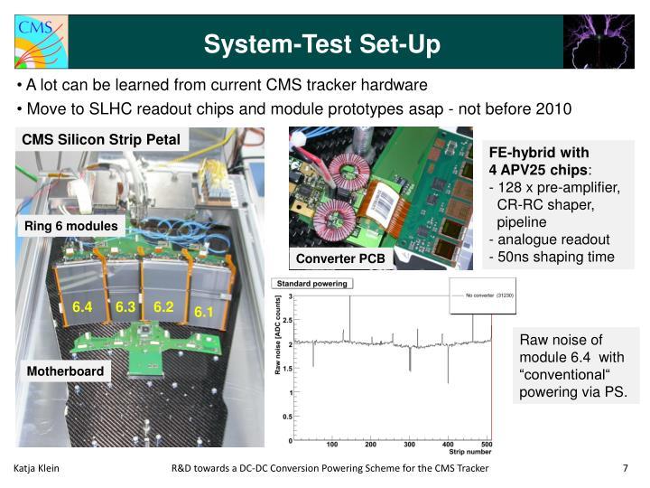 System-Test Set-Up