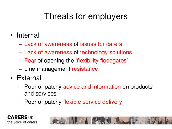Threats for employers