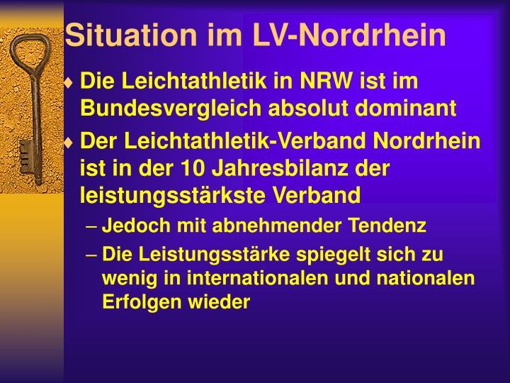 Situation im lv nordrhein