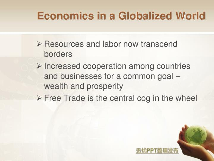 Economics in a Globalized World