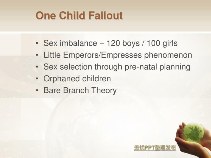 One Child Fallout