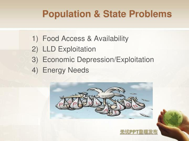 Population & State Problems