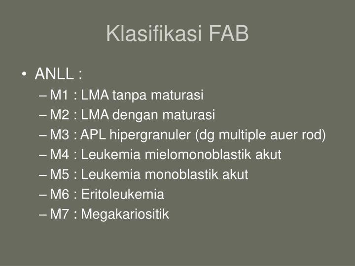 Klasifikasi FAB