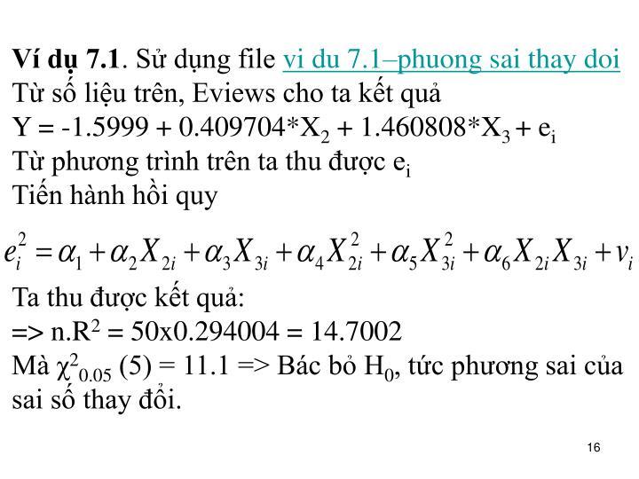 Ví dụ 7.1