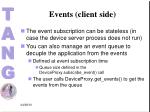 events client side2