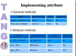 implementing attribute