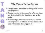 the tango device server1