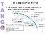 the tango device server2
