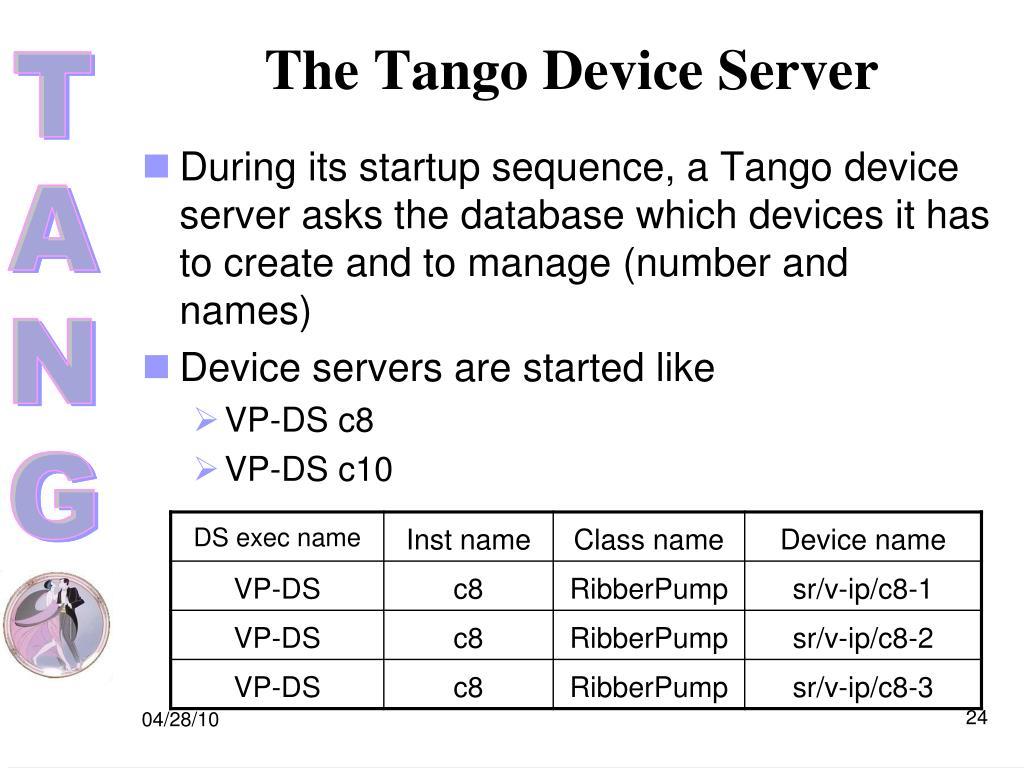 PPT - Tango Training PowerPoint Presentation - ID:3330186