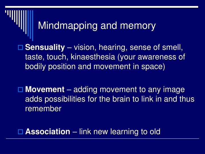 Mindmapping and memory