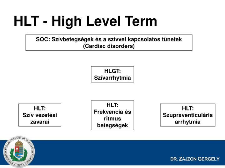 HLT - High Level Term