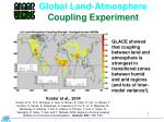 global land atmosphere coupling experiment