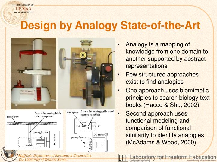 Design by Analogy State-of-the-Art