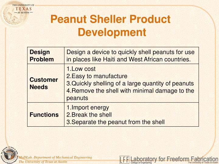 Peanut Sheller Product
