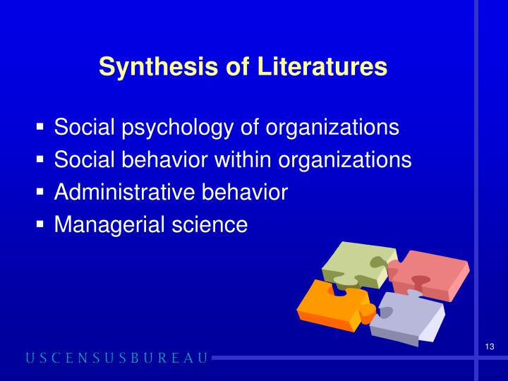 Synthesis of Literatures