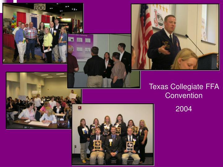 Texas Collegiate FFA Convention
