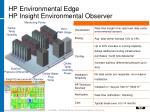 hp environmental edge hp insight environmental observer
