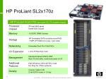hp proliant sl2x170z