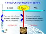 climate change research epochs