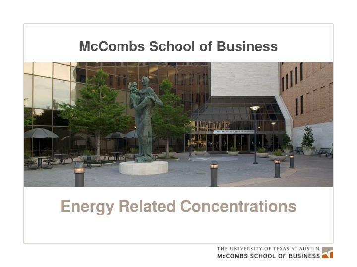 mccombs school of business n.