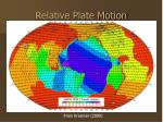 relative plate motion1