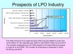 prospects of lpo industry