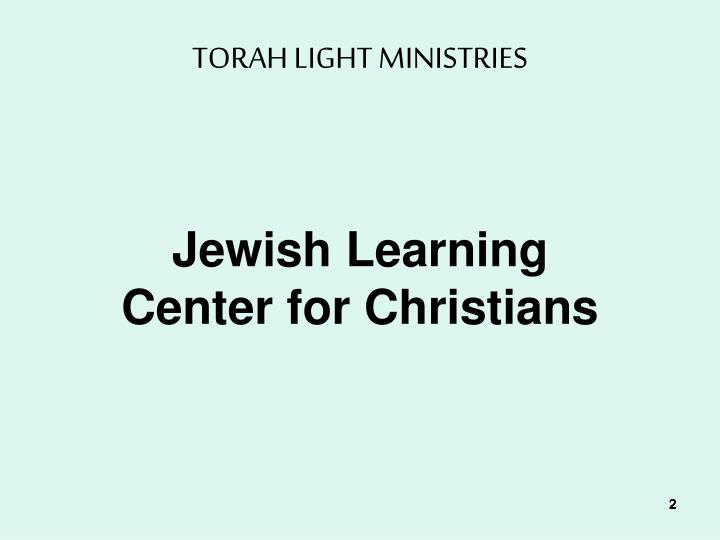 Torah light ministries