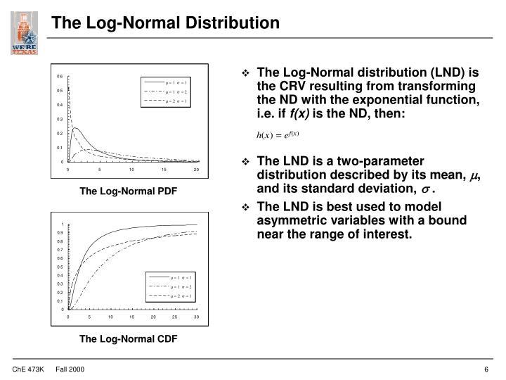 The Log-Normal Distribution