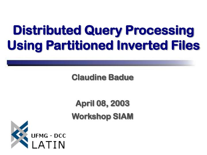 claudine badue april 08 2003 workshop siam n.