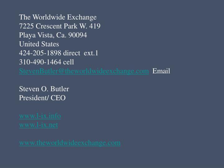 The Worldwide Exchange