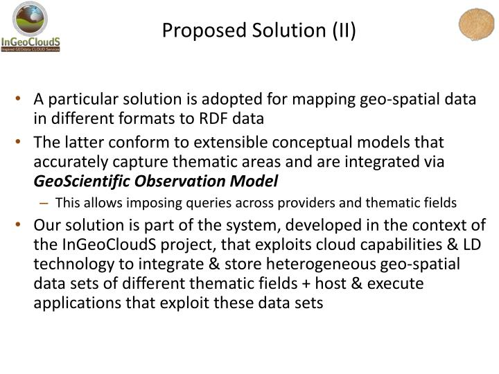 Proposed Solution (II)