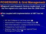 powergrid grid management