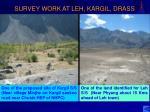 survey work at leh kargil drass1