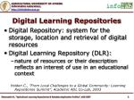 digital learning repositories