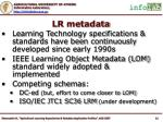 lr metadata