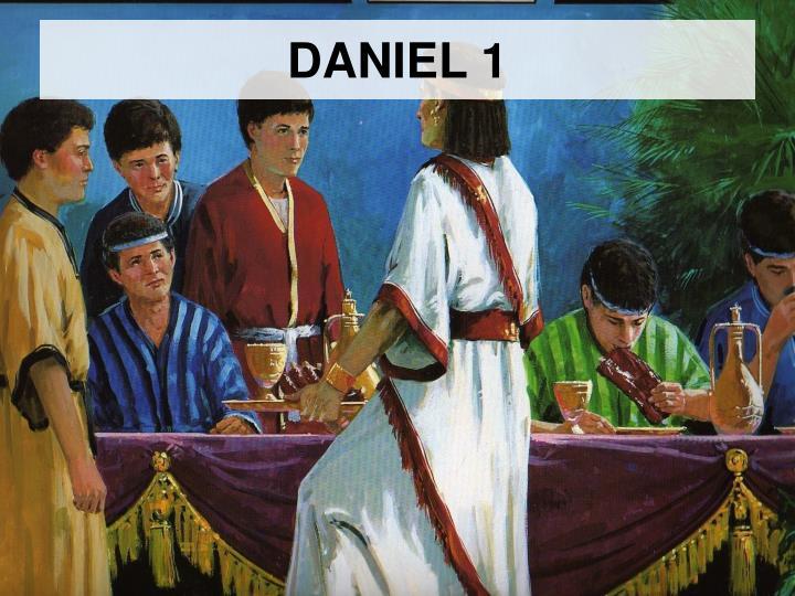 PPT DANIEL 1 PowerPoint Presentation free ID
