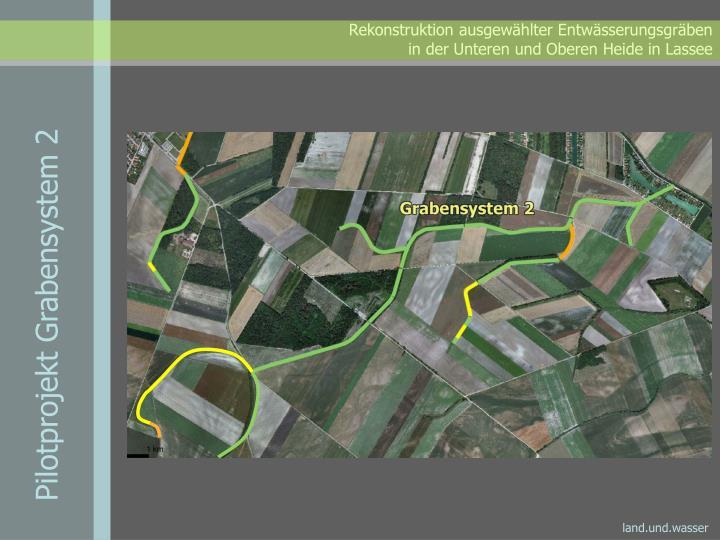 Pilotprojekt Grabensystem 2