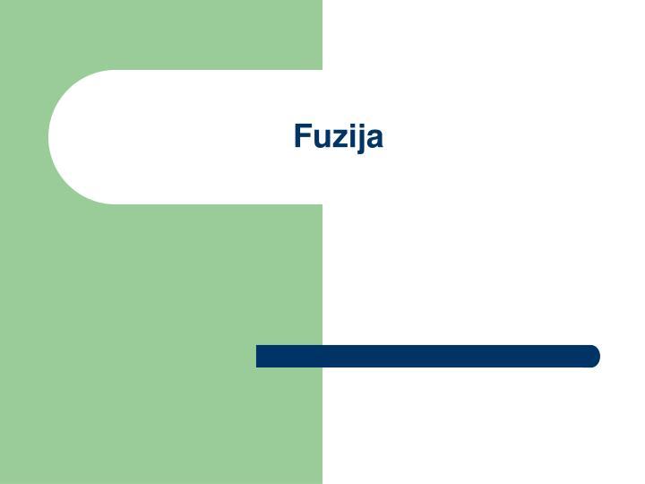 Fuzija