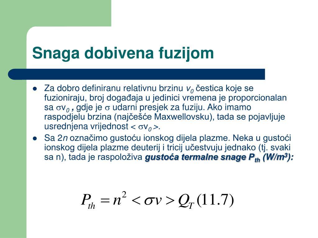 jednadžba minimalne dobi