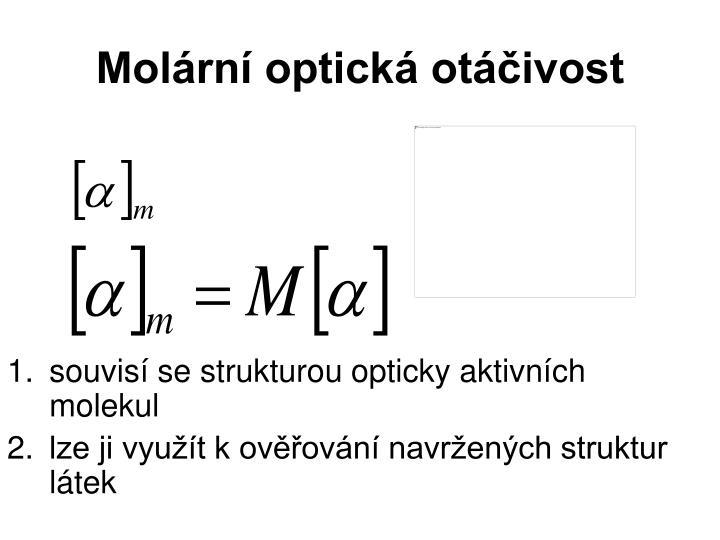 Molární optická otáčivost