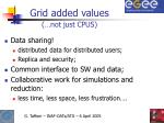 grid added values
